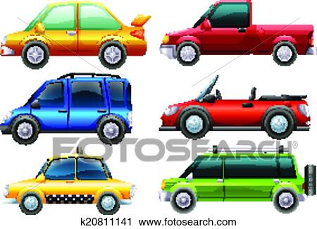 clipart different types of cars fotosearch search clip art illustration murals