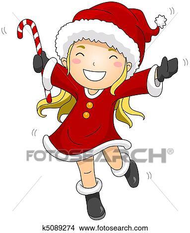 Drawing little santa fotosearch search clip art illustrations