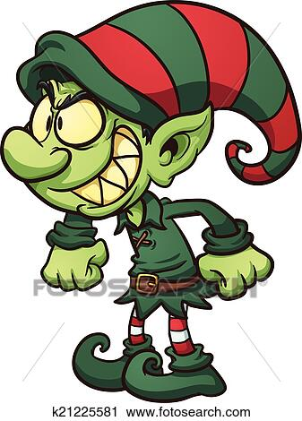 clipart of evil christmas elf k21225581 search clip art rh fotosearch com clip art of devil clipart evil laugh