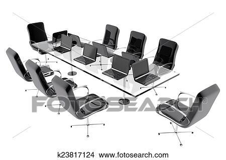 桌子, 带, 椅子图片