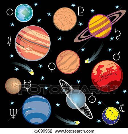 solar system symbols - photo #22