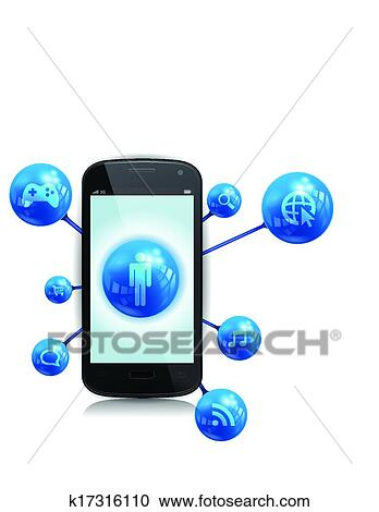 Mobile Device Clipart