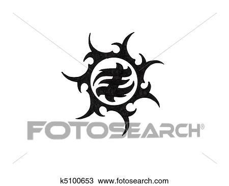 510k template - banque de photo tatouage art croquis de a noir