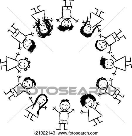 Clipart of children and globe coloring page k21922143 Search