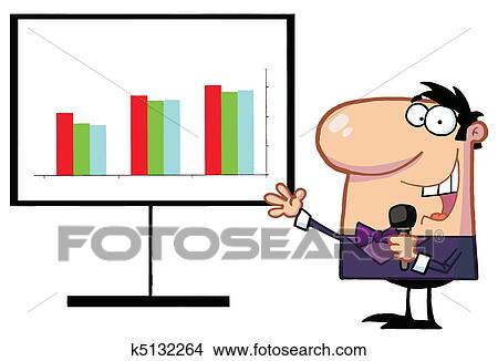 clipart of friendly talk show host man k5132264 search clip art rh fotosearch com talk clipart free talk clipart black and white