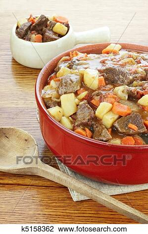 Stock Photo Of Beef Stew K5158362 Search Stock