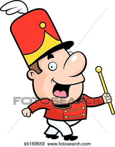 clip art of marching band conductor k5169659 search clipart rh fotosearch com march clip art pictures matching clipart