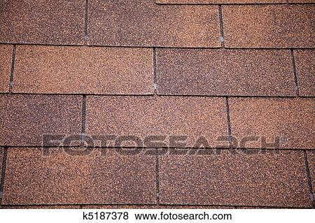 images brun asphalte toiture shingles k5187378 recherchez des photos des images des. Black Bedroom Furniture Sets. Home Design Ideas
