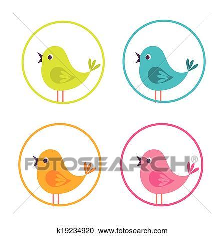 Clipart uccellino disegno k19234920 cerca clipart for Uccellino disegno