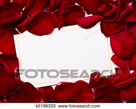 stock foto glueckwunschkarten merkzettel rosenbl tter. Black Bedroom Furniture Sets. Home Design Ideas