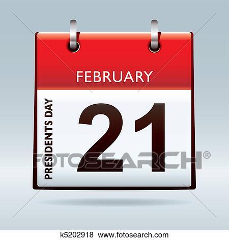 Clip art giorno presidenti calendario k5202918 cerca for Clipart calendario