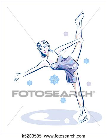 Ice Skating Show Clip Art