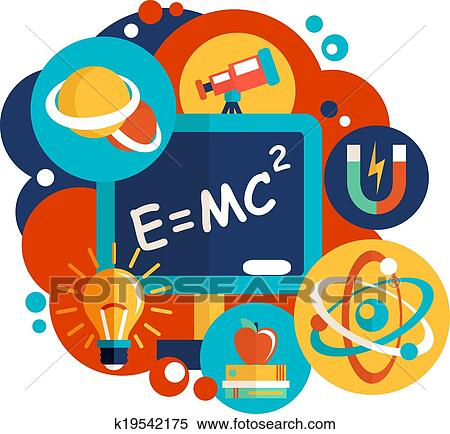 Clip Art Physics Clipart physics clip art royalty free 15282 clipart vector eps science flat design