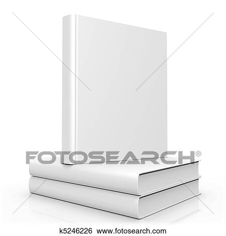 Stock Illustration of Blank Empty 3d Book Cover k5246226 - Search ...