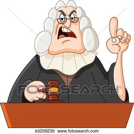 clipart of judge k5259235 search clip art illustration murals rh fotosearch com clipart judge clipart judge and jury