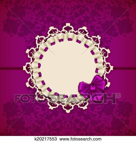 Clipart elegante vektor schablone f r luxus for Elegante wandbilder