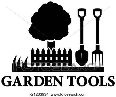 Clipart schwarz kleingarten gartengestaltung symbol for Gartengestaltung logo