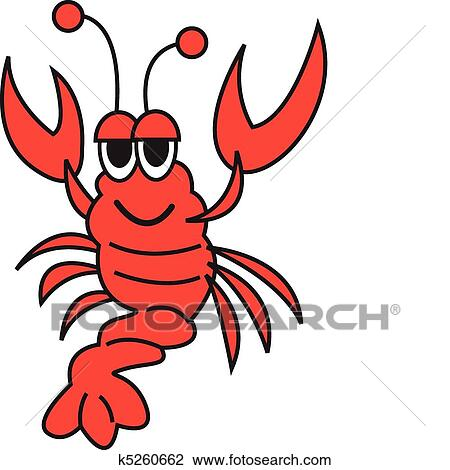 clipart of lobster vector clip art k5260662 search clip art rh fotosearch com lobster clipart black and white lobster clipart images