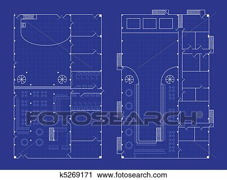 Clipart of simple nightclub blueprint k5269171 search clip art clipart simple nightclub blueprint fotosearch search clip art illustration murals drawings malvernweather Gallery