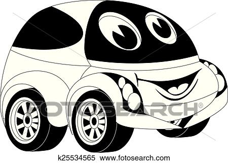 卡通漫画, 汽车