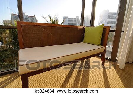 Stock Photo Of Bay Window And Seat K5324834 Search Stock