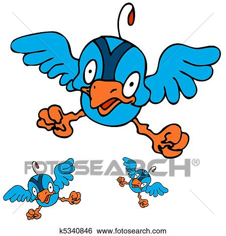 clip art of baby bird learning to fly k5340846 search clipart rh fotosearch com clip art flying clip art flying saucers