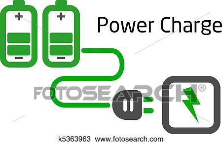 clipart of battery charge with plug vector k5363963 search clip rh fotosearch com battery clip art free battery clip art images