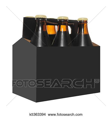 6 pack beer carrier template - stock photo of six pack of beer bottles k5363394 search