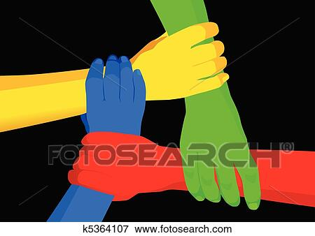 Unity Line Art Map : Clip art of unity in diversity k search clipart