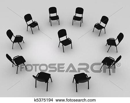 手绘图 - 椅子