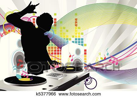 dj speakers clipart. clip art - dj music. fotosearch search clipart, illustration posters, drawings, dj speakers clipart