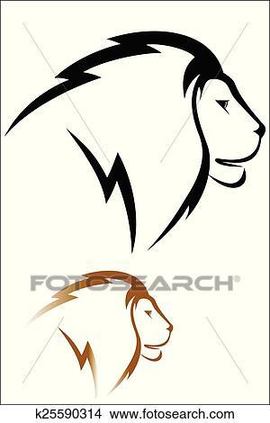 Duschkopf clipart  Clipart - löwenkopf k25590314 - Suche Clip Art, Illustration ...