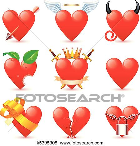 Clipart cuore icons k5395305 cerca clipart for Clipart cuore