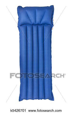 banques de photographies matelas gonflable k5426701 recherchez des images des photos et des. Black Bedroom Furniture Sets. Home Design Ideas