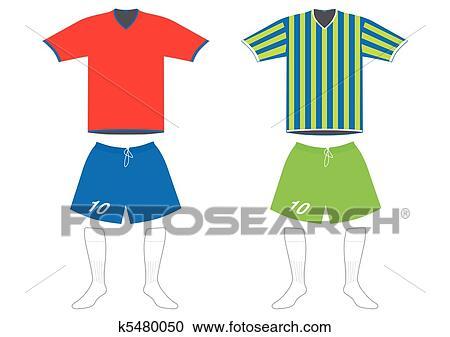 clipart of soccer uniform k5480050 search clip art illustration rh fotosearch com uniform clipart school clipart uniform shop
