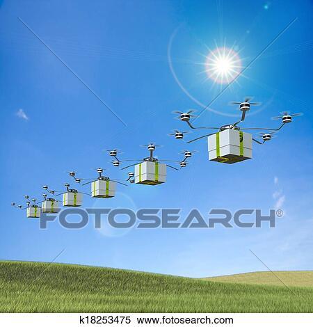 banque d 39 image livraison rapide poste paquet k18253475 recherchez des photos des images. Black Bedroom Furniture Sets. Home Design Ideas