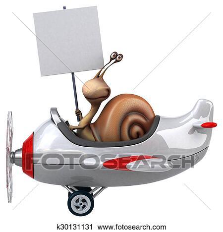 剪贴画 - 乐趣, 蜗牛