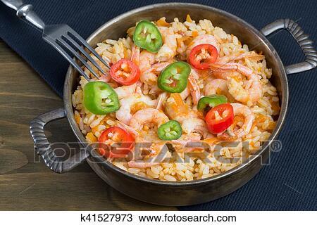Рис с креветками и овощами рецепт пошагово