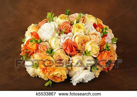 Салат с фото букет роз