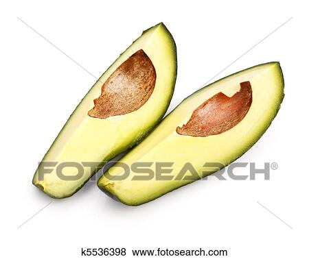 Picture - avo?ado slices. Fotosearch - Search Stock Photos, Images, Print