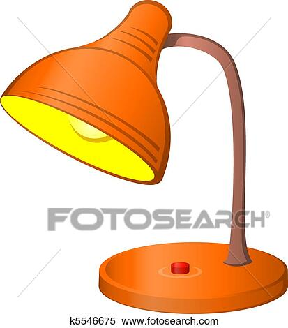 Schreibtischlampe clipart  Clipart - schreibtischlampe k5546675 - Suche Clip Art ...