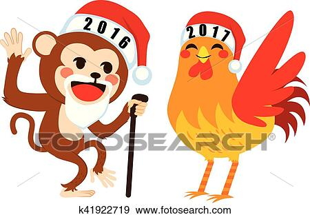 剪贴画 - 新年, 再见, 概念图片