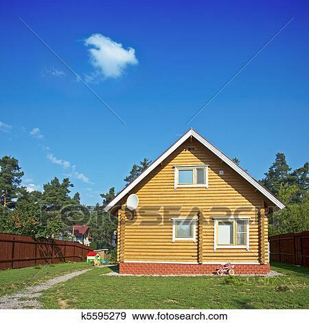 木制的房屋