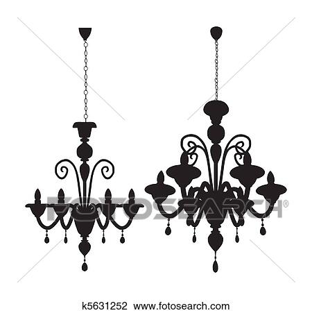 Clipart of luster chandelier k5631252 search clip art clipart luster chandelier fotosearch search clip art illustration murals drawings and mozeypictures Choice Image