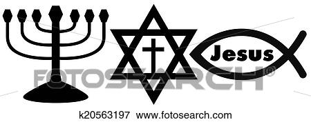 Picture Of Religious Symbols K20563197 Search Stock