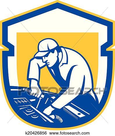 clip art of auto mechanic automobile car repair shield retro rh fotosearch com auto repair clipart auto repair clipart images