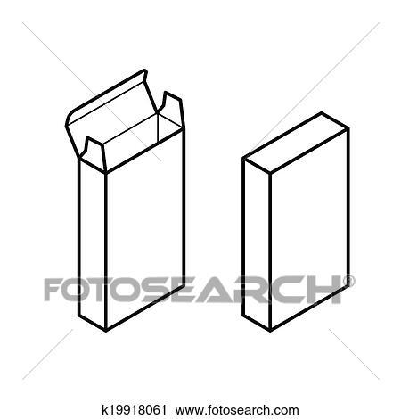 长方形, 盒子