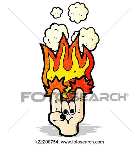 Clipart of rock devil horns hand symbol k22208754 - Search Clip ...
