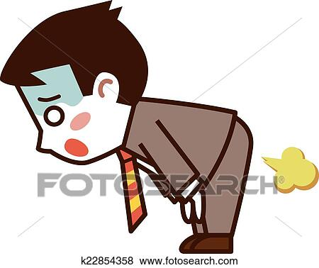 clip art of businessman farts k22854358 search clipart rh fotosearch com businessman clipart black and white businessman clipart cartoon