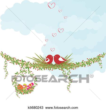Clipart of Springtime Easter holiday k5680243 - Search ...